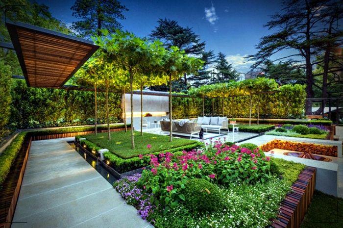 Diseno De Jardines Y Paisajes Modernos Lo Mejor Para El Diseno Exterior De Tu Casa Diseno De Jardin Diseno De Jardin Moderno Diseno Exterior