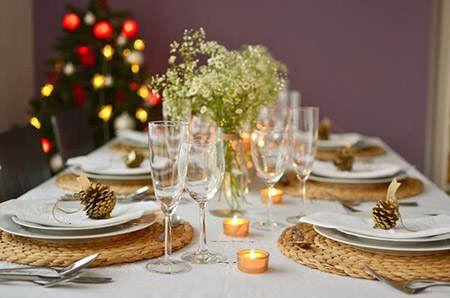 Ideas para decorar la mesa de navidad mesas originals - Como decorar centros de mesa para navidad ...