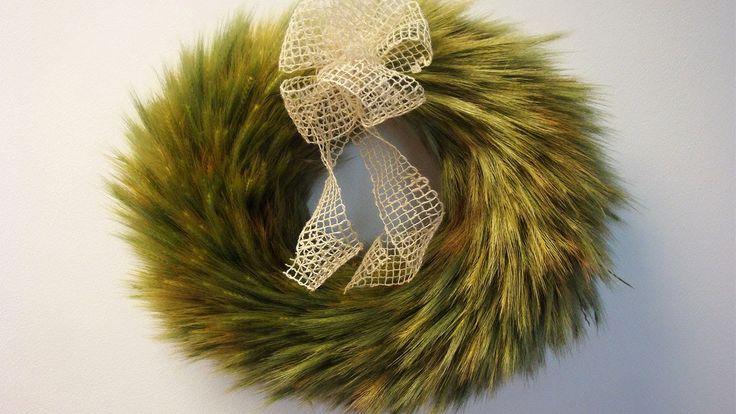 Türkranz aus Getreide basteln ❁ Deko Ideen mit Flora-Shop