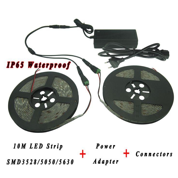 Find More LED Strips Information About DC12V Flexible SMD5050 3528 5630  Single Color 10M LED Strip