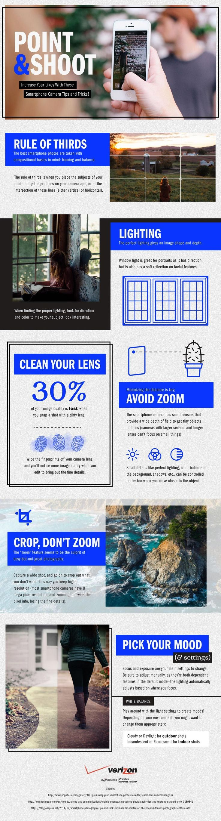 Smartphone Photography Tips and Tricks #Infographic #Photography #MobileDevices