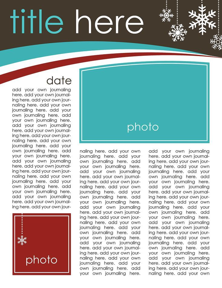 49 Custom Christmas Letter Templates for the Holidays: Creating Keepsakes' Free Christmas Letter Template