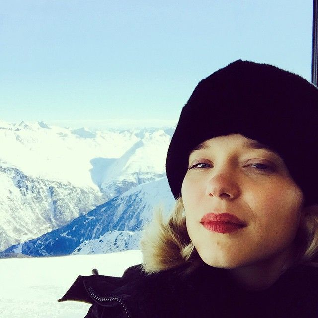 Lea Seydoux So perfect!! Can't wait for SPECTRE!