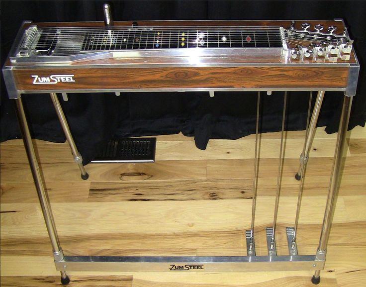 Zum Steel 10 String Pedal Steel Guitar