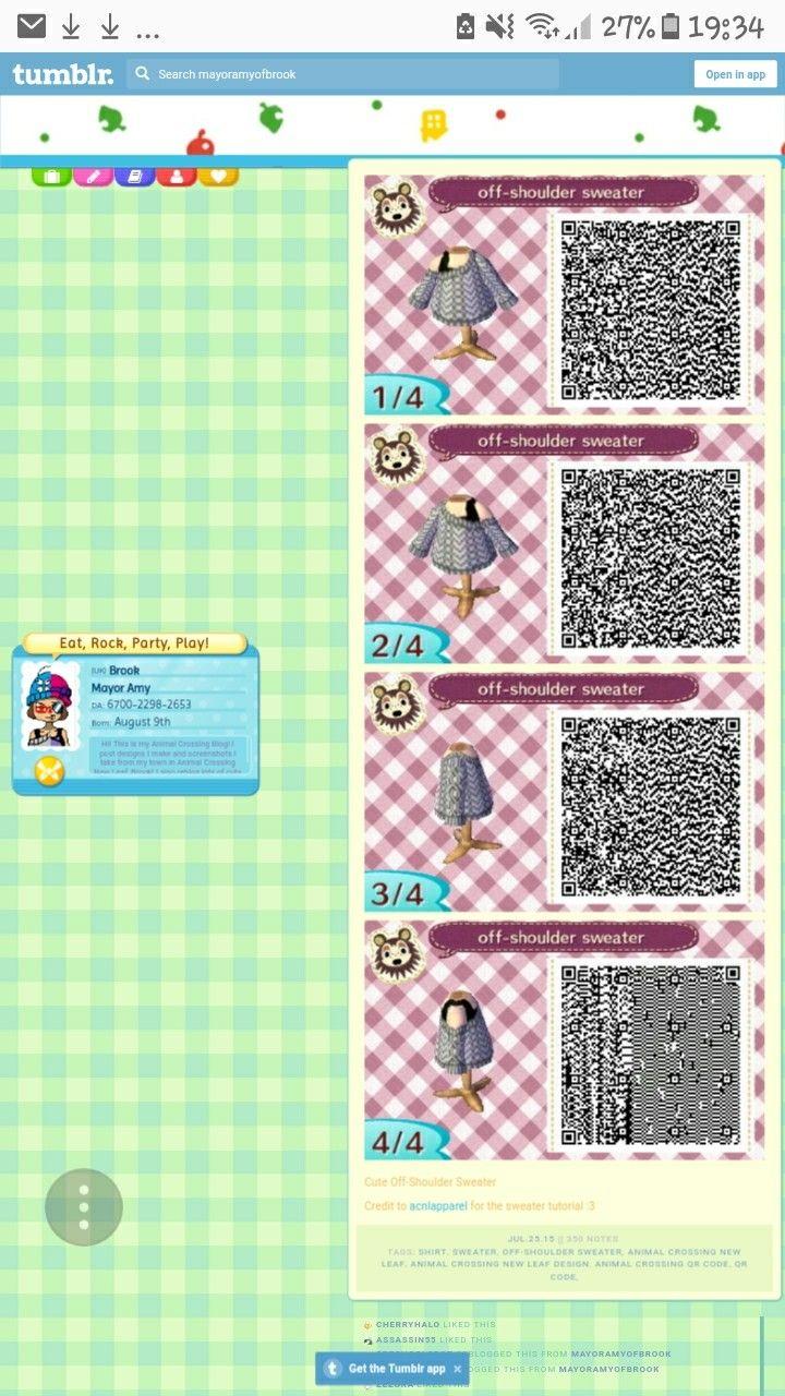 2669f677c72d0d Screenshot off-shoulder sweater qr-code