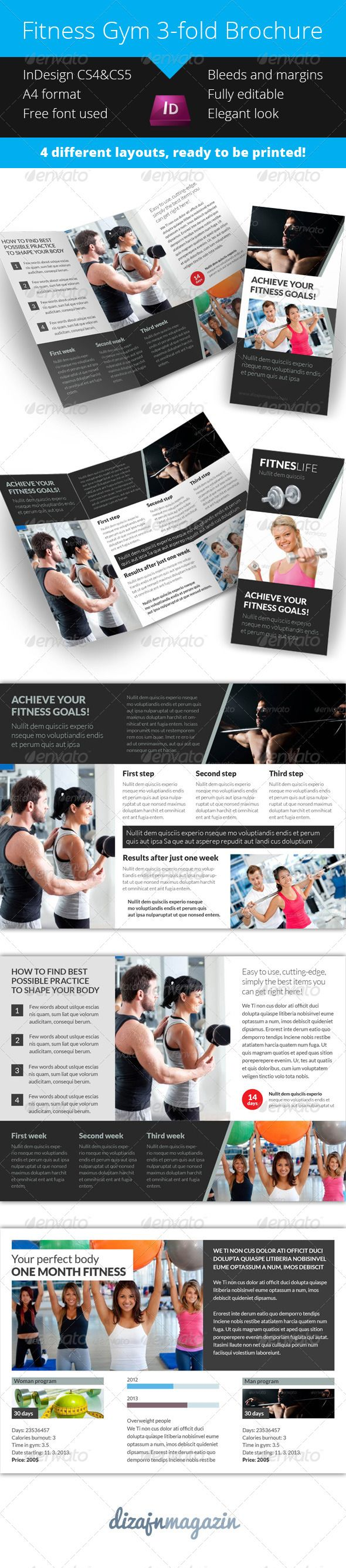 92 best images about print templates on pinterest for Tri fold brochure template indesign cs6