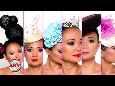 (23) SHAPOH.com on ¡HOLA! TV: Maria Celeste Arraras Talks Fascinators - YouTube