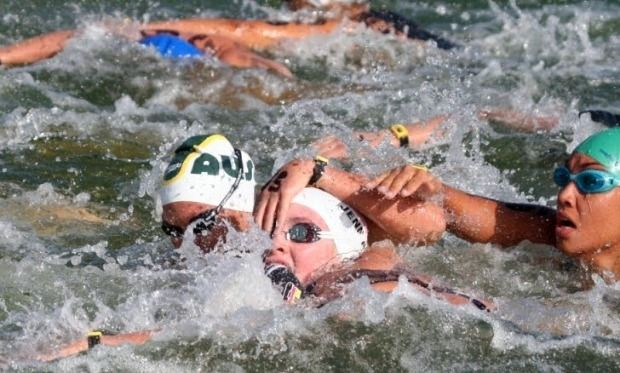 Race Tactics For The Open Water Triathlon Ironmantri