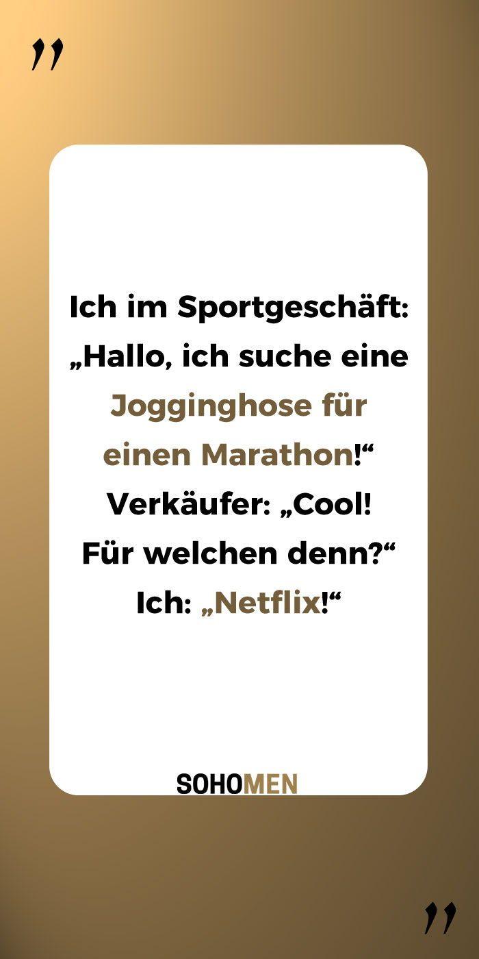 Lustige Spruche Lustig Witzig Funny Jogginghose Marathon