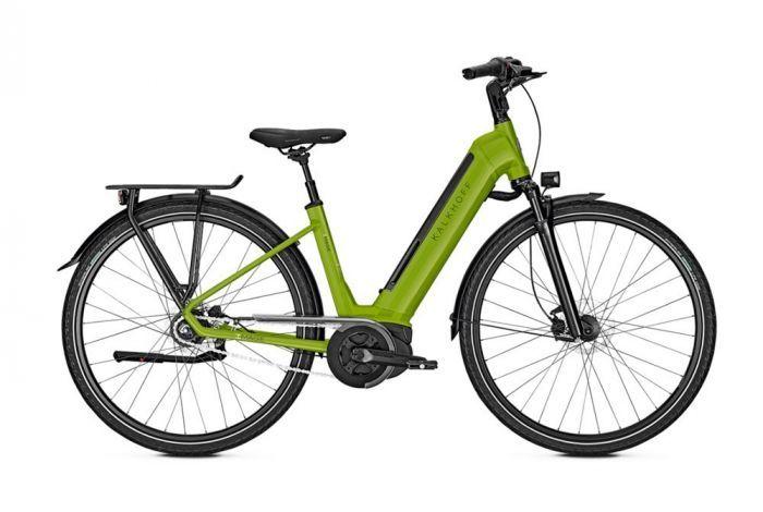 Kalkhoff Image Move B8 E Citybike Halte Durch Losfahren Und Strassenverkehr