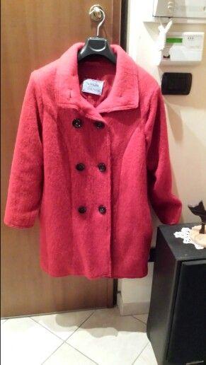 Cappotto in lana cotta, cartamodello originale Modellina Simplicity rielaborato in corso d'opera
