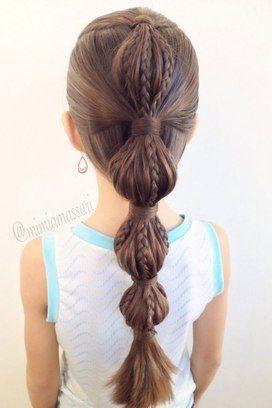 Para quem tem cabelos longos, essa é uma obção muito bonita. Foto: Pinterest/Elizabeth Locklear