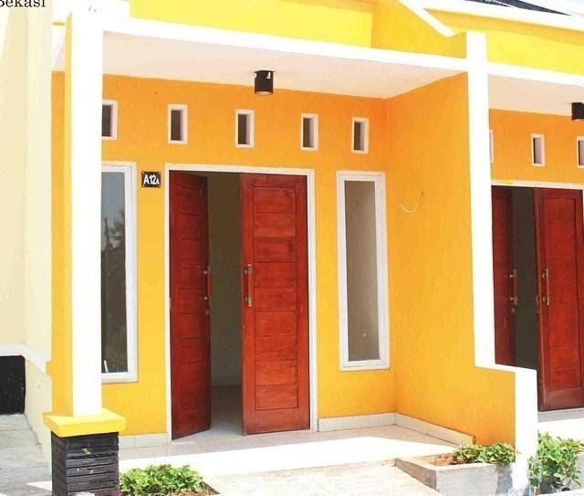 Contoh Cat  Rumah  Minimalis  Warna  Kuning  di 2021 Warna
