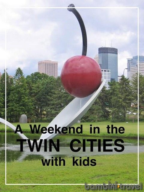 A Weekend in the Twin Cities with Kids | Ideas for where to stay, eat, and play for families visiting or living in St Paul and Minneapolis Area. Bambini Travel