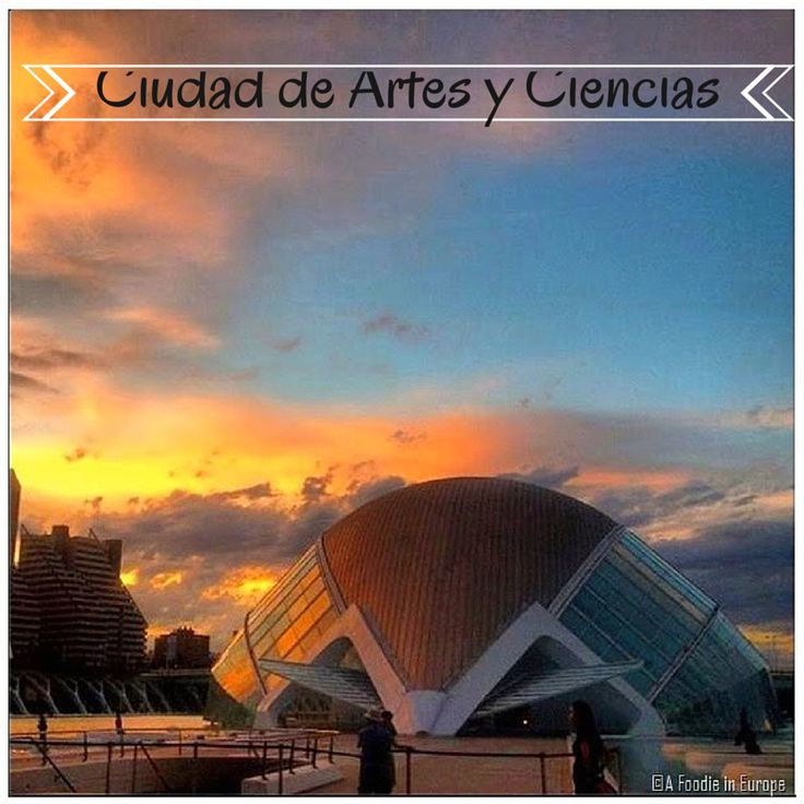 One of the coolest places in Valencia. The City of Arts and Sciences!