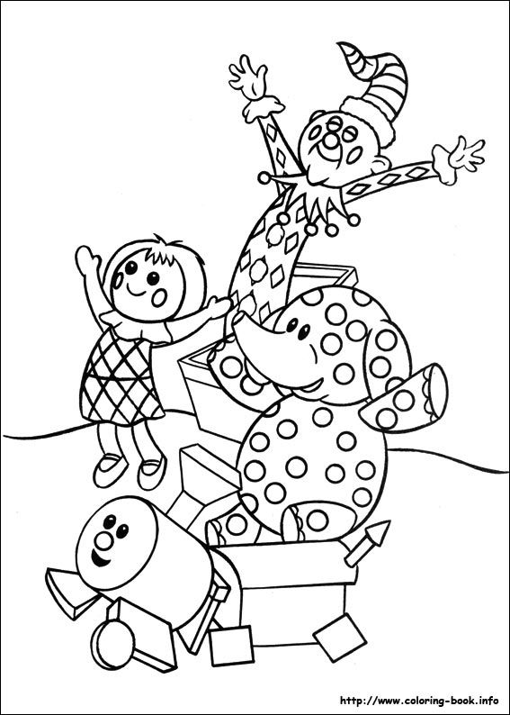 Rudolph the Red-Nosed Reindeer coloring picture