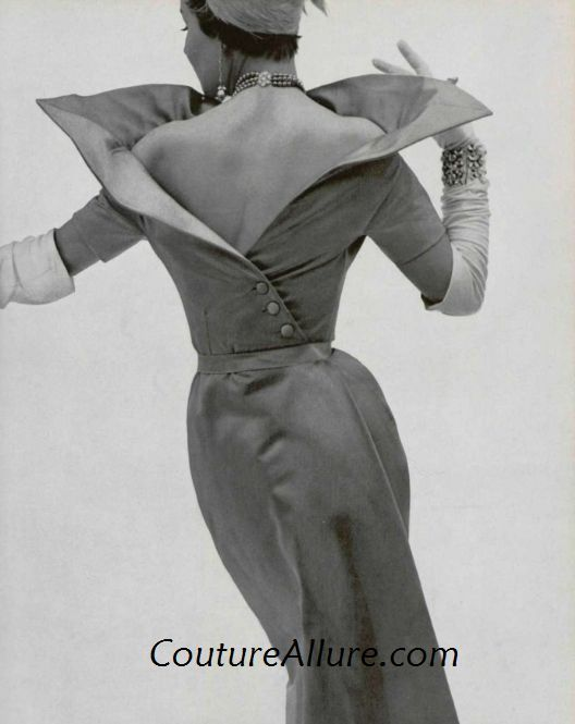 Couture Allure Vintage Fashion: Paris Couture: Jacques Fath, 1950