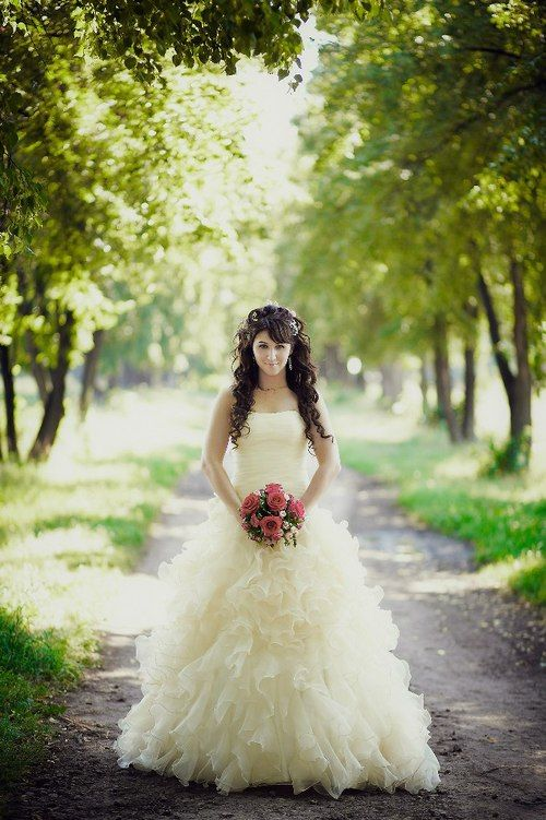 Pale Yellow Wedding Dress- Available in Every Color