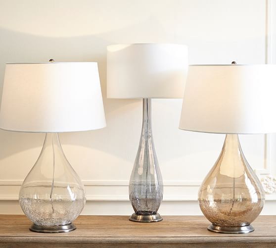 Sophia Crackled Table Lamp | Pottery Barn