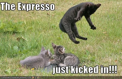 The espresso just kicked in!!!