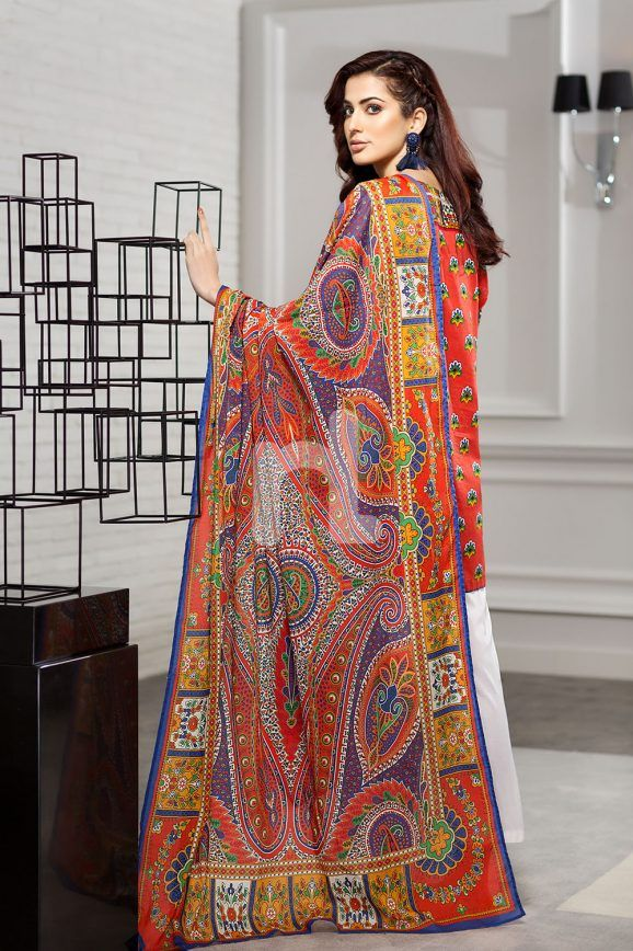 6f6824bd59 Nishan Linen Spring Summer Collection 2018- Best Lawn Dresses to Wear