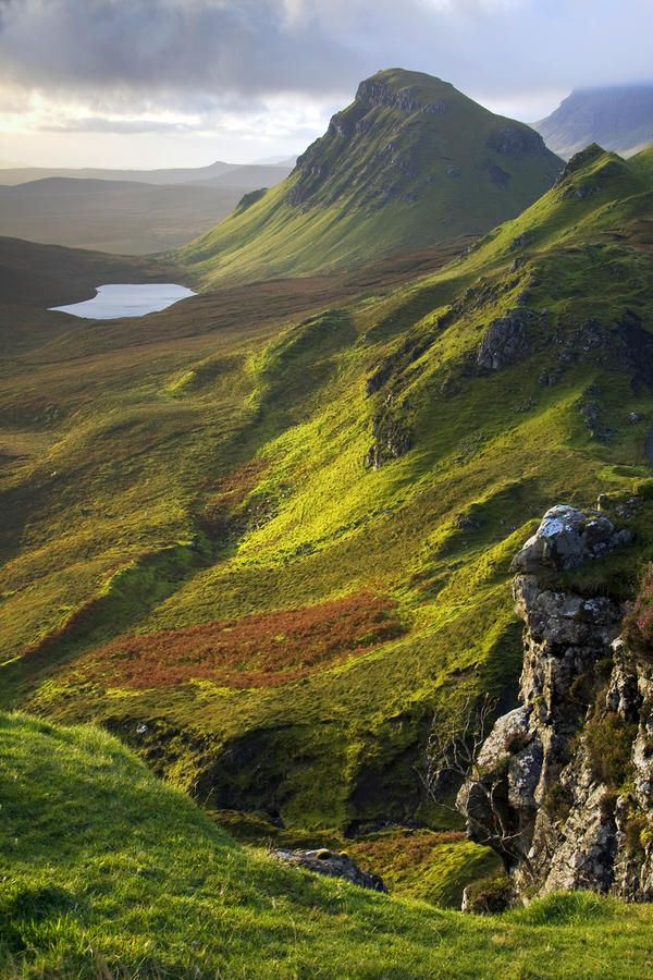 The Trotternish Hills from the Quiraing Isle Of Skye, Scotland. Photo: John McKinlay.  There's nothing like Scotland!