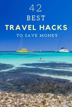 Want to save money on travel costs? Here are 42 of our best travel hacks for saving money.   Just this past week alone, we've saved over $1400 by applying a few of these tips. Now that we're back travelling full time we'll be using more of them and letting you know how we save!  Happy pinning!