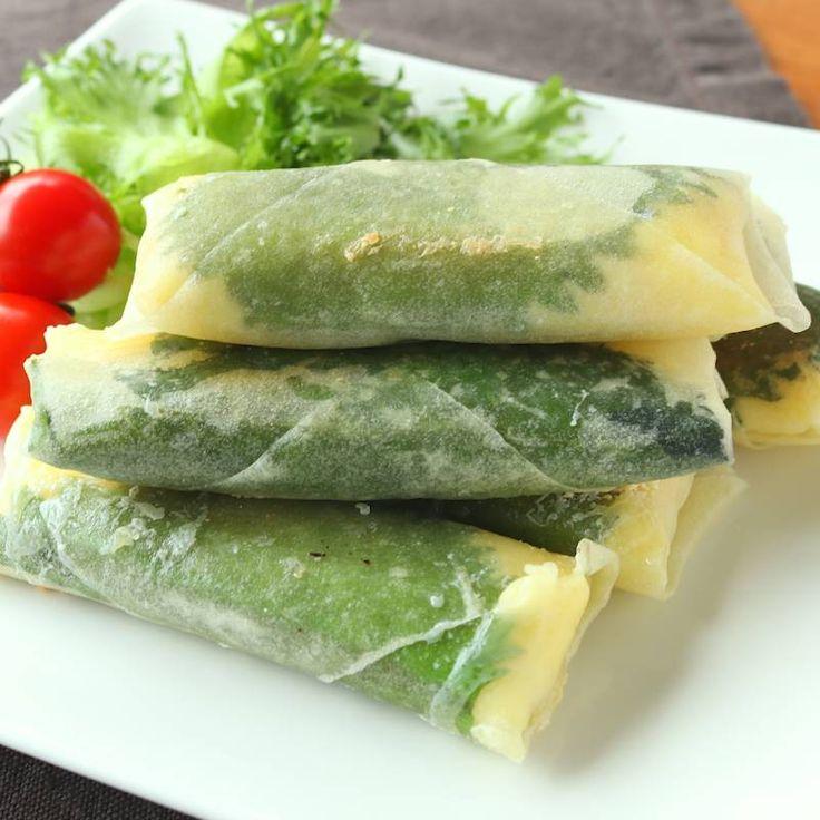 大葉とチーズのヘルシーささみ春巻き | 料理動画(レシピ動画)のkurashiru [クラシル]