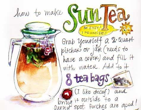 SUN TEA!