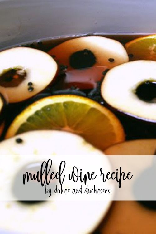 This simple mulled wine recipe is a delicious and easy addition to your Christmas party and always a crowd pleaser!