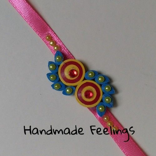 Paper Quilled Rakhi                                                                                                                                                      More