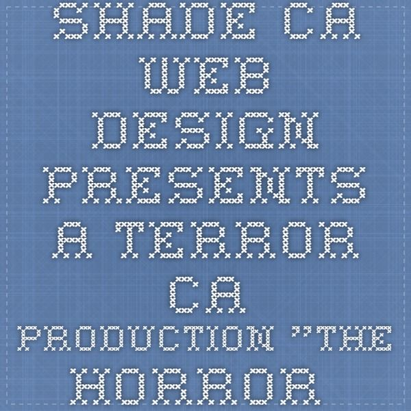 """SHADE.CA WEB DESIGN PRESENTS A TERROR.CA PRODUCTION """"THE HORROR ICONS MEMORY GAME"""" GRAPHIC DESIGN, COMPOSITING, VIDEO & SOUND EDITING BY STEVE HUTCHISON PROGRAMMING BY BENOIT HOTTE AND JASON KEALEY"""