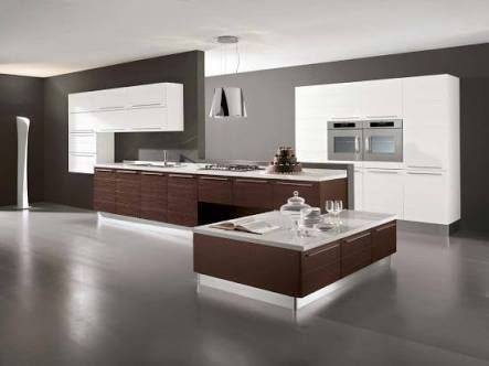 7 best Cusines images on Pinterest Kitchen, Salons and Black kitchens