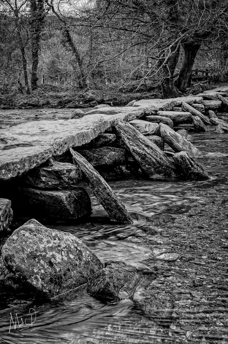 Tarr Steps is one on my favourite places of Exmoor National Park.  Photo by Mark Stothard - Read More http://msp.im/1LU71qf