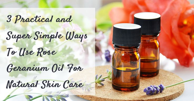 #Moisturizer, #Balm & Soothing #Skincare #Treatment!  3 Practical and Super Simple Ways To Use #Rose #Geranium #Oil Special Thanks to www.naturalskincarejunkie.com!!