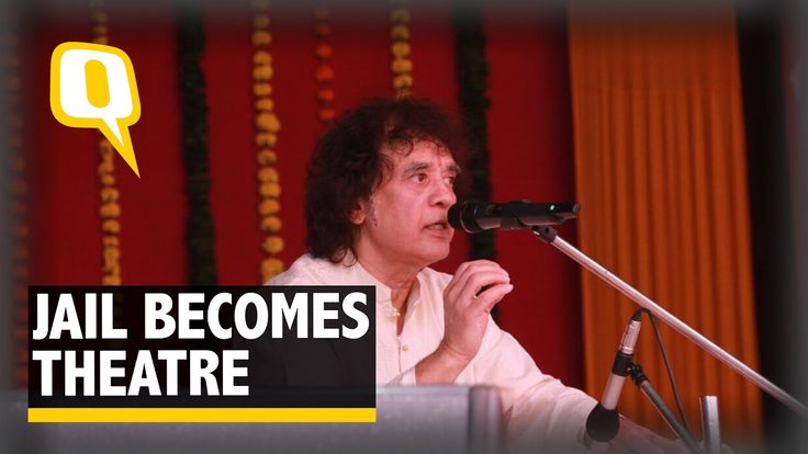 The Quint: Ustaad Zakir Hussain Rocks The Jailhouse With Riveting Tabla ...