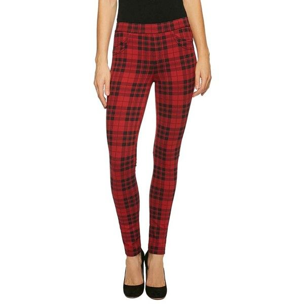 Women's Sanctuary 'Grease' Leggings ($89) ❤ liked on Polyvore featuring pants, leggings, janis plaid, tartan plaid leggings, legging pants, checked leggings, checkered leggings and knit leggings