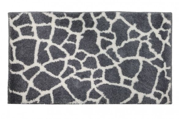 Schoner Wohnen Badvorleger Mauritius Steine Grau 1900 005 042 Badezimmerteppich Richtig Putzen Und Badezimmerboden