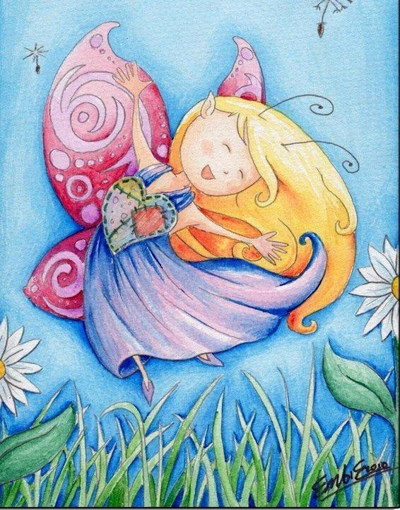511 Best Cute Fairies Etc Images On Pinterest  Faeries -5766