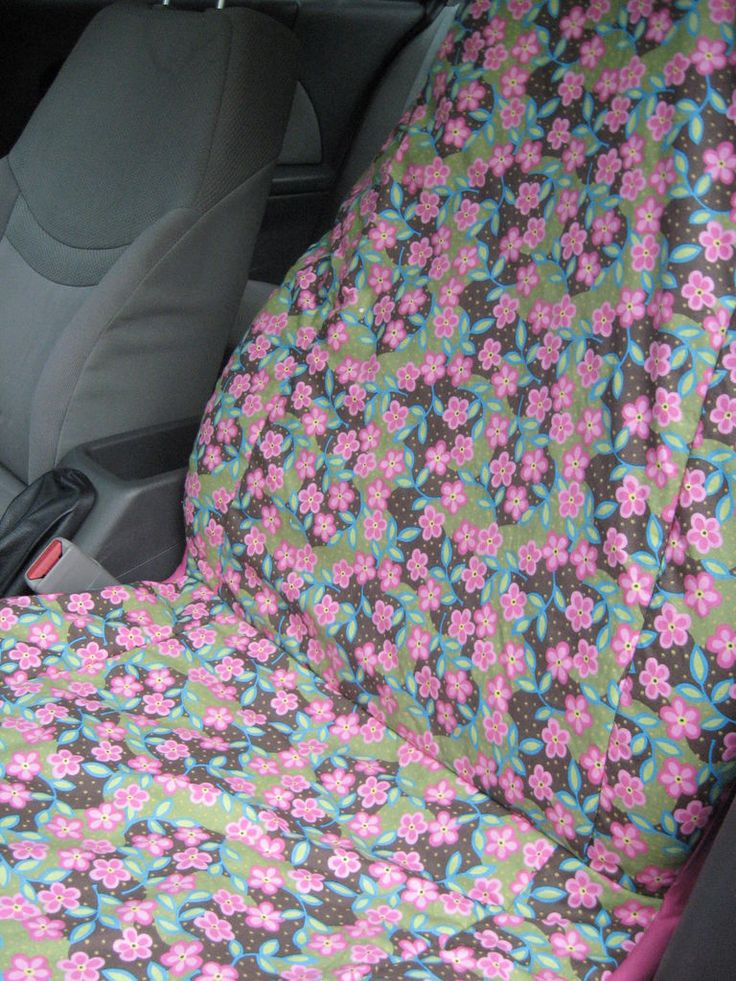 Make your own car seat cover