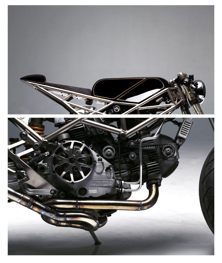 Custom Ducati 900 - Grease n Gasoline