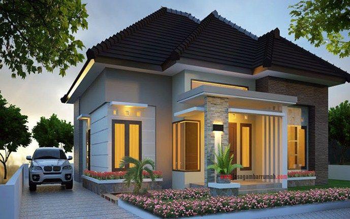 35 Desain Rumah Minimalis Tampak Depan Terbaru 2019 Home Fashion Desain Rumah Bungalow Rumah Minimalis
