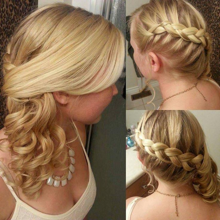 "13 Likes, 1 Comments - Toronto Colourist & Stylist (@hollyshairaffair) on Instagram: ""#hollyshairaffair #behindthechair #updo #upstyle #blondehair #curls"""