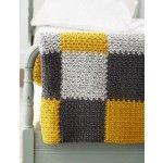 Patchwork Blanket | Yarnspirations......Free pattern