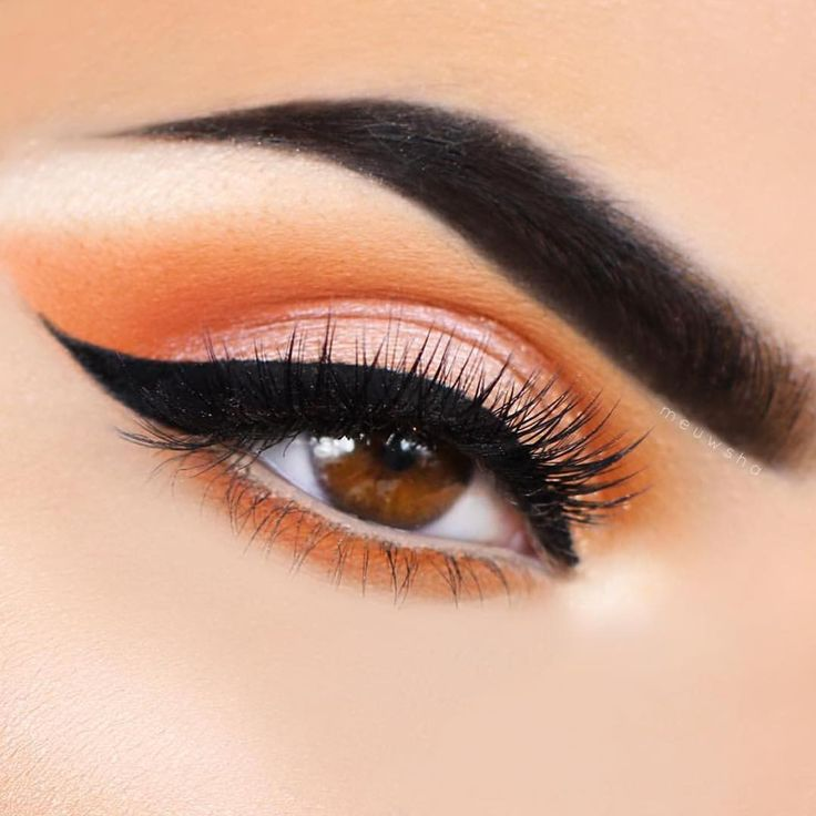 1000 Ideas About Orange Eye Makeup On Pinterest
