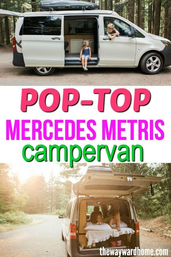 This Pop Top Van Is The Modern Take On The Vw Camper Chevy Astro Van Van Life Vw Camper