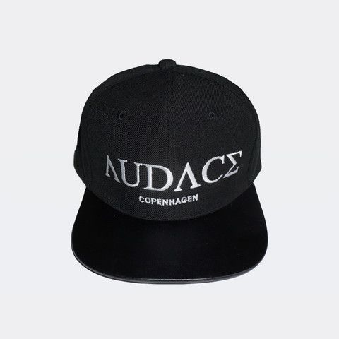Unisex - Snapback cap from Audace Copenhagen with leather brim - 80% acrylic 20% wool. http://www.audace.dk/collections/caps/products/audace-copenhagen-snapback-leather