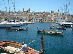 Barcos, Puerto, Valetta, Malta