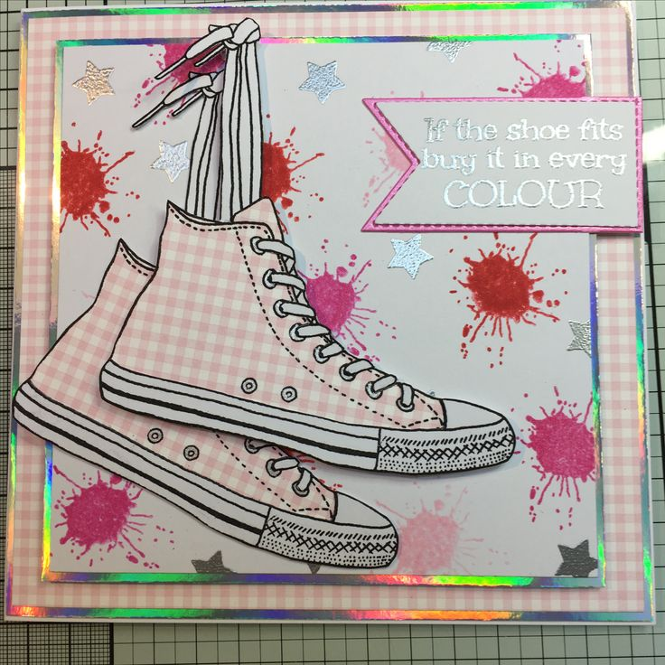 For the love of stamps - Step out in Style
