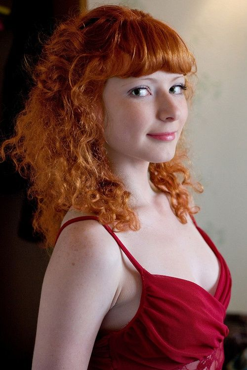 Beautiful Redhead Gals: Red Hair World Freckles Ginger Redhead Girl Dress Smile
